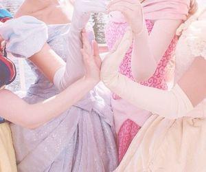 disney, belle, and cinderella image