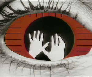 eye and hands image
