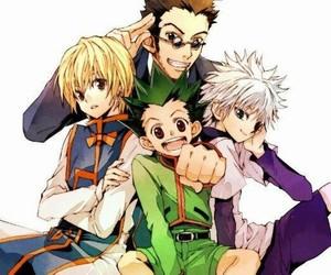 kurapika, leorio, and hunter x hunter image