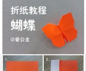 butterfly, origami, and tutorial image