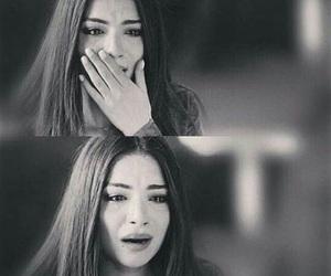 cry, girl, and sad image