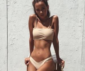 bikini, girl, and skin image
