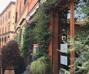 bologna, curly hair, and fashion image