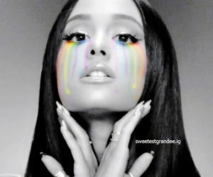 edit, ariana, and grande image