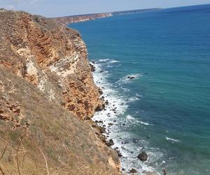 bulgaria, cliffs, and ocean image