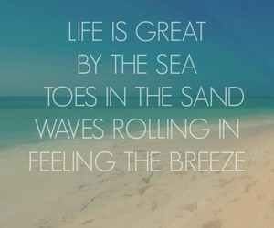 life, quotes, and sea image