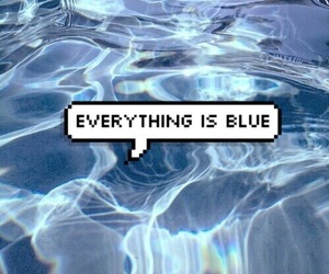 blue, aesthetic, and tumblr image