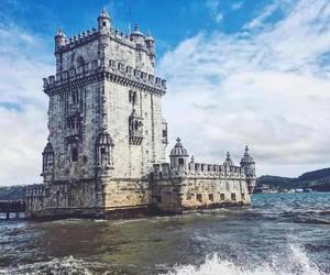 castle, lisboa, and lisbon image