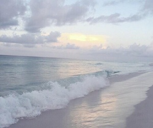 pastel, ocean, and blue image