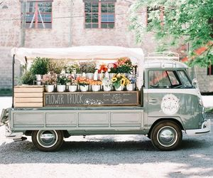 flowers and truck image