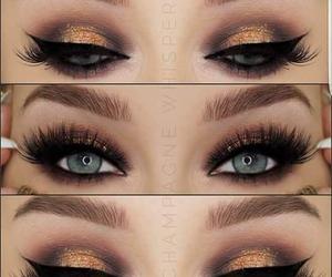 eye, eyeshadow, and make-up image