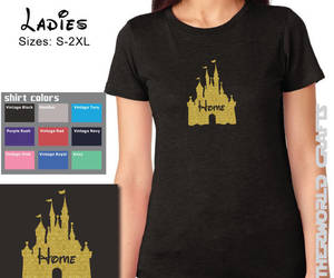 etsy, disney vacation tee, and disney is home image