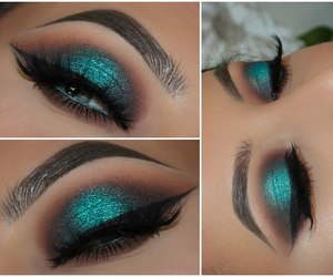 halo, makeup, and tutorial image