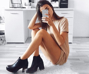 body, high heels, and outfit image