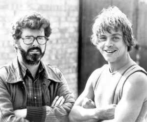 star wars, george lucas, and luke skywalker image