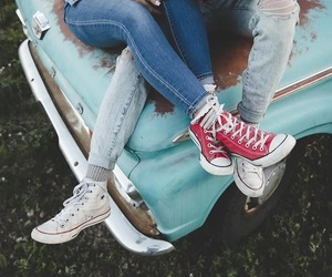 converse, couple, and cuteness image