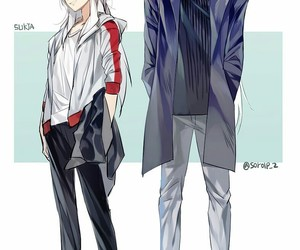inuyasha, anime, and sesshoumaru image