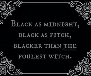 witch, black, and quotes image