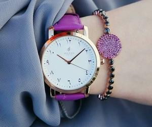 accessories, bracelets, and purple image