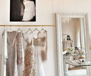 dress, white, and luxury image