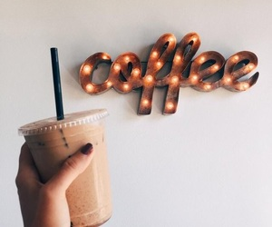 cafe, coffee, and iced image