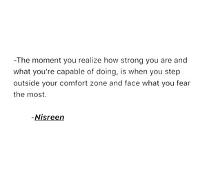 confidence, fearless, and strong image