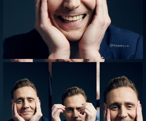 actor, Collage, and tom hiddleston image