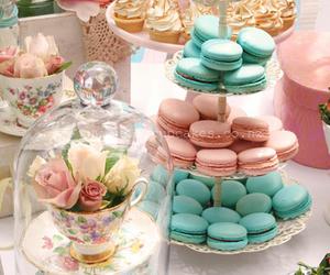 sweet, macarons, and food image