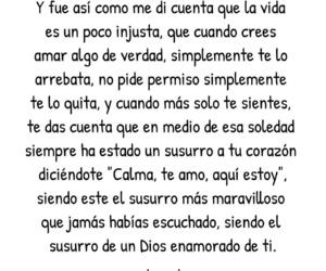 te amo, susurro, and dios image
