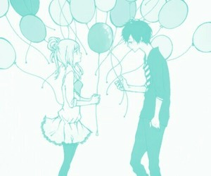 couple, manga, and just be friends image