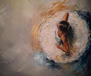 art, ballerina, and beautiful image