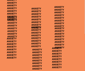 anxiety, anxious, and quotes image