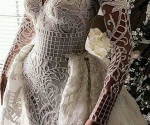 bride, dress, and style image