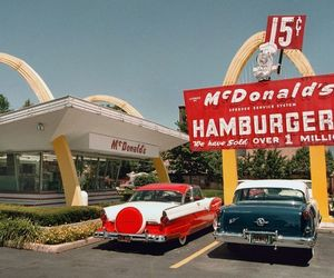 50s and McDonalds image