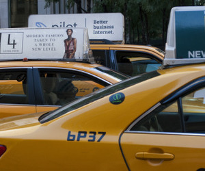 nyc, taxi cabs, and taxis image