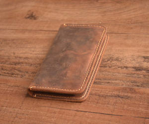 distressed, leather, and phone cases image