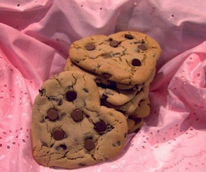 Cookies, food, and pink image