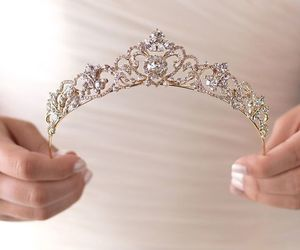 crown, princess, and diamonds image