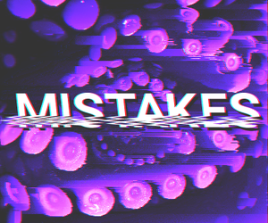 aesthetic, glitch, and purple image
