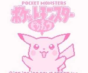 pokemon, pikachu, and pixel image