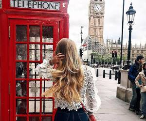 london and blonde image