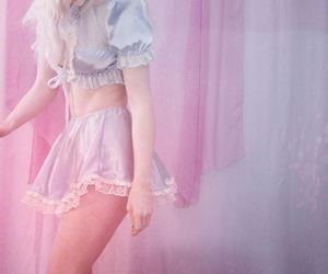 aesthetic, baby doll, and pink image