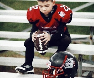 american football, football, and kid image