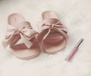 bows, sandals, and forever21 image