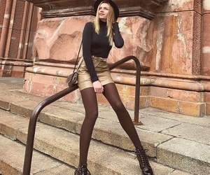 boots, fashion, and woman image