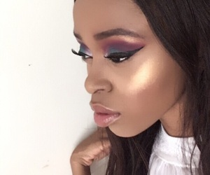 contour, makeup, and Queen image