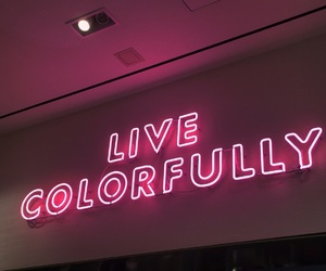 live and pink image