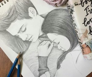 love, lara jean, and peter kavinski image