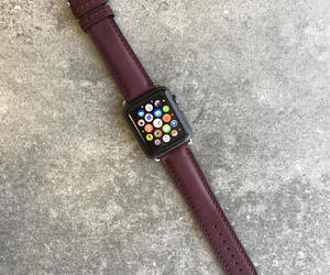 etsy, girlfriend gift, and leather iwatch band image