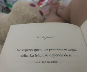 frases, book, and felicidad image